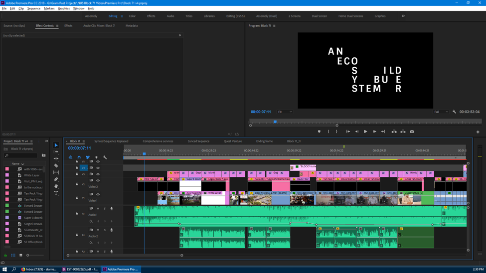Premiere Pro FULL HD screen example