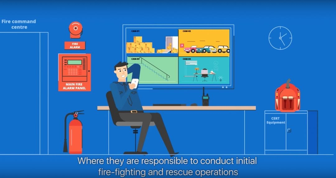 Fire Safety Animation by Gram Singapore