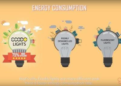 Ecodo LED Lightbulb Explainer Video
