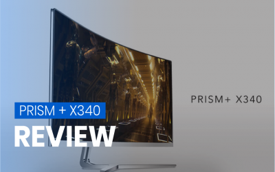 Review by the Pros: PRISM+ X340 – 144Hz Professional Gaming Monitor