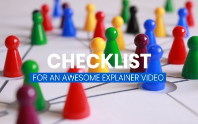 The complete checklist for an awesome explainer video