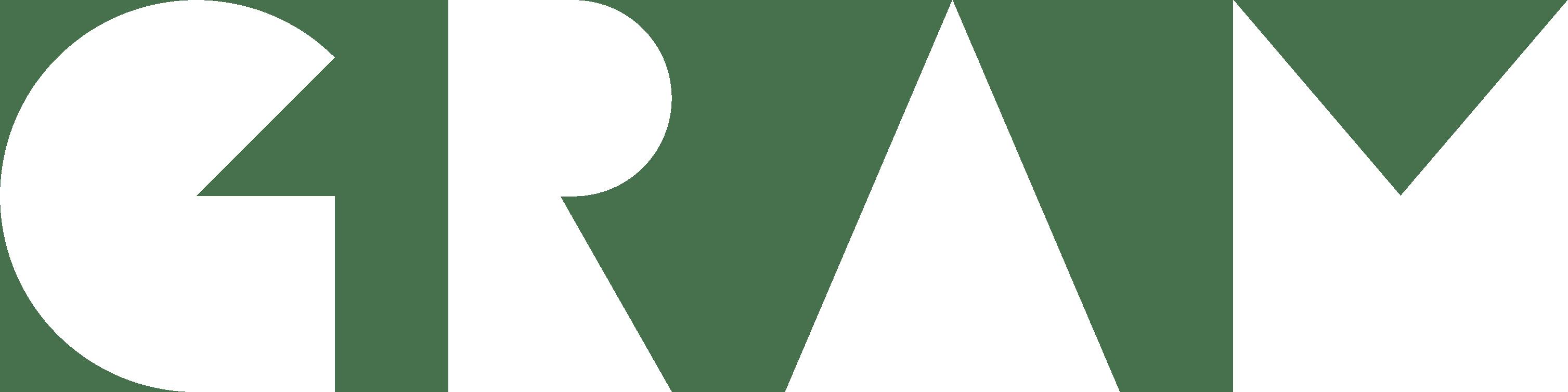 Gram Logo White