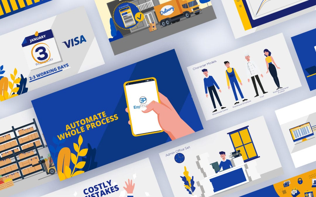 Visa x EzyProcure: Explainer Video