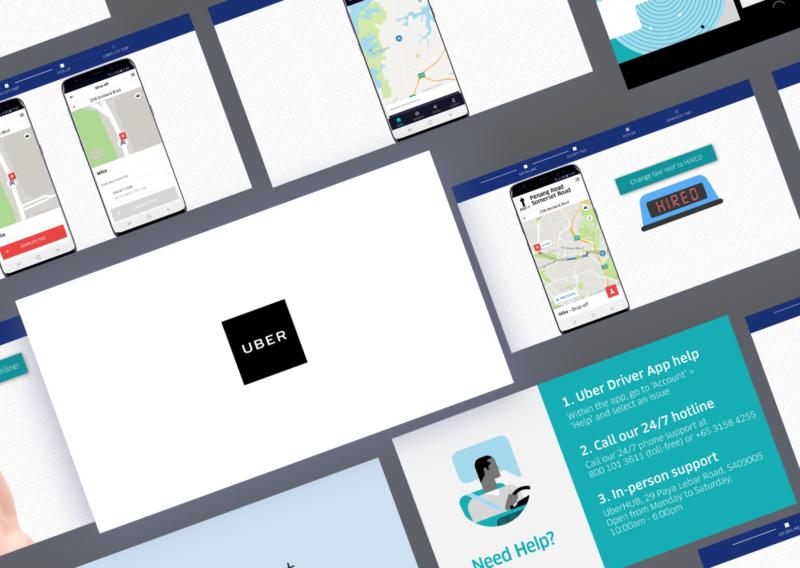 UberFLASH App Onboarding Video